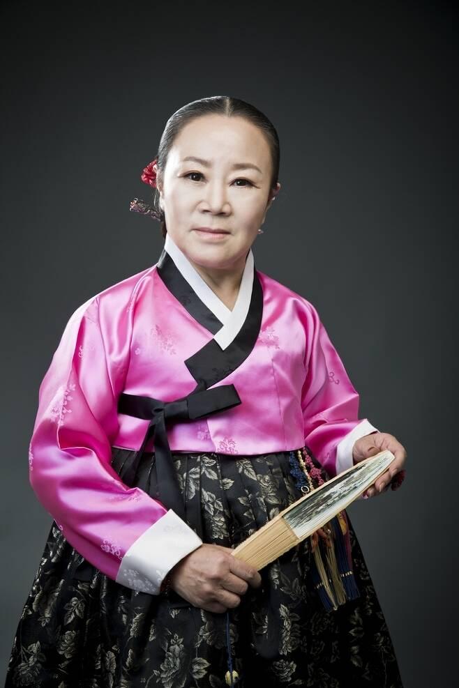 판소리 수궁가 보유자로 인정된 김수연씨(문화재청 제공)© 뉴스1