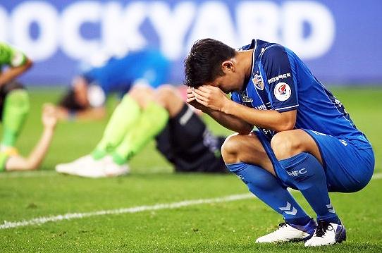 올 시즌 K리그1과 FA컵에서 각각 준우승을 기록한 울산 현대(사진=한국프로축구연맹)