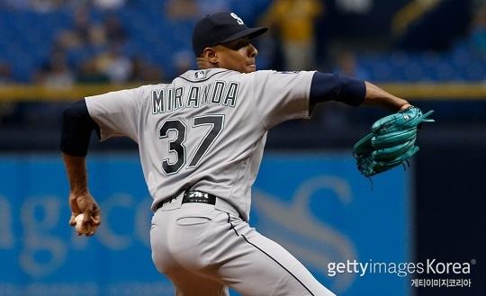 두산은 올 시즌 타이완 리그에서 뛰었던 좌완 투수 아리엘 미란다와 협상을 진행 중이다(사진=gettyimages)