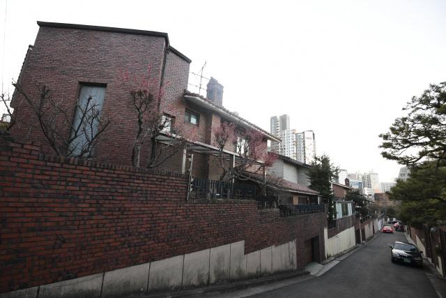 강남 일대 단독주택.