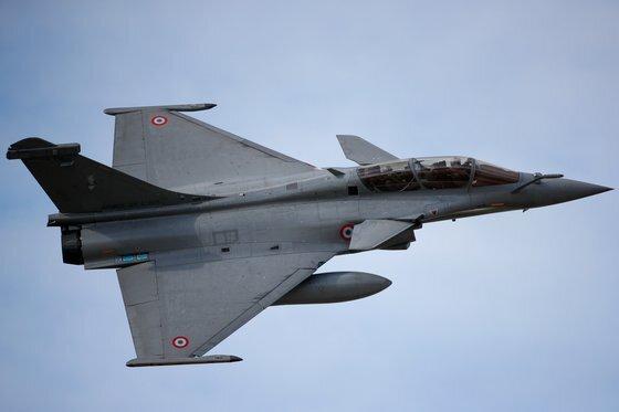 인도네시아가 구매를 추진하고 있는 프랑스의 전투기 라팔. [로이터=연합]