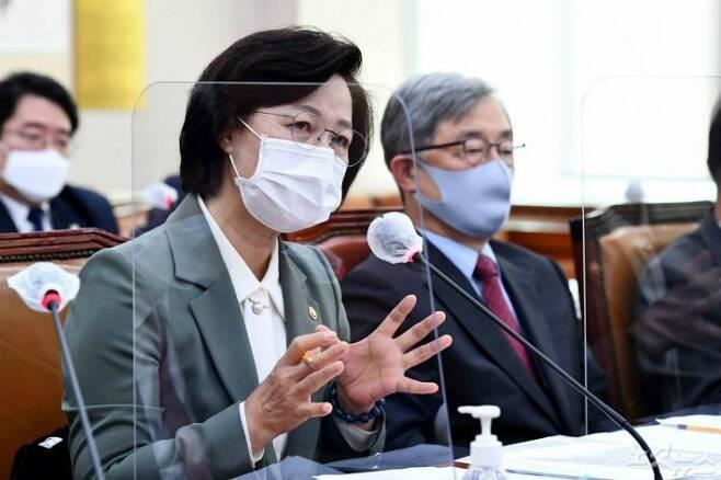 추미애 법무부장관(사진=윤창원 기자/자료사진)