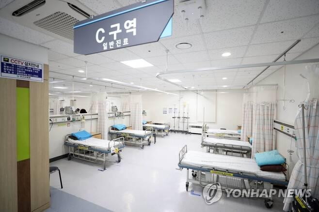 부산의료원 응급실 연합뉴스 자료 사진