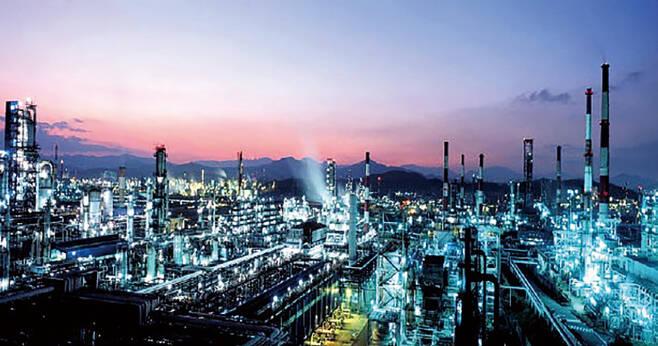 온산국가산업단지 전경 ⓒ울산시 제공