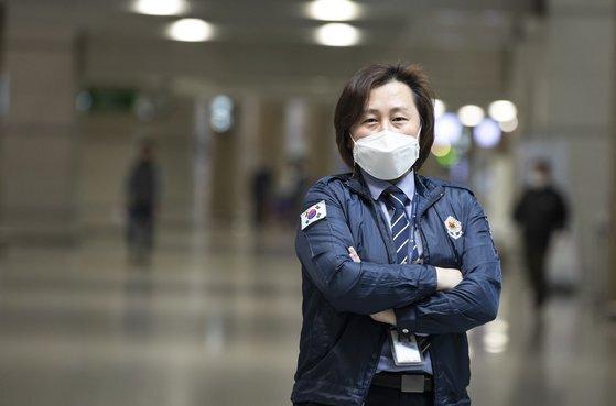 인천공항 검역소 강소현 팀장. 권혁재 기자