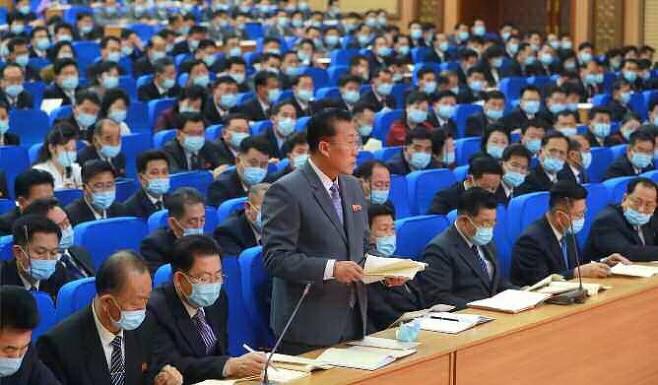 부문별 협의회에서는 발언자를 제외하고 전원 마스크를 썼다. 뉴스1