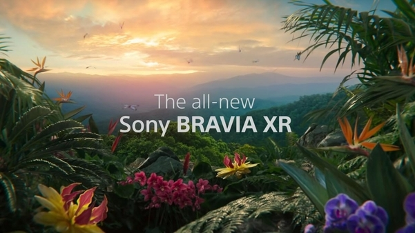 소니 브라비아 XR. 인공지능을 활용해 화질을 높인 LCD TV다. /소니 유튜브 캡처