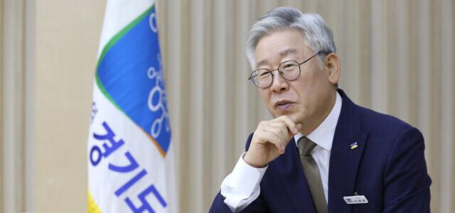 이재명 경기도지사. <한겨레> 자료사진