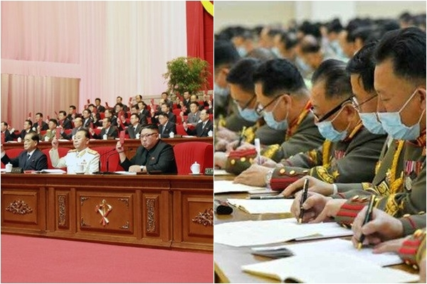 왼쪽부터 지난 10일 제8차 당대회, 지난 11일 부문별 협의회./사진=뉴스1