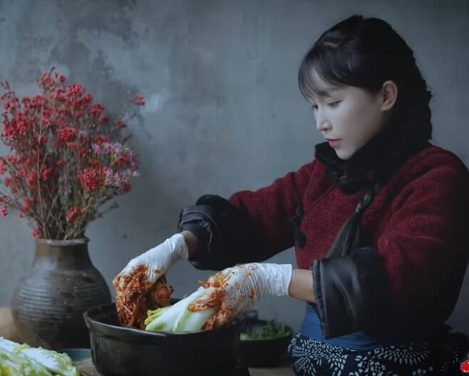 /유튜브 채널 '리쯔치(李子柒·Liziqi)'