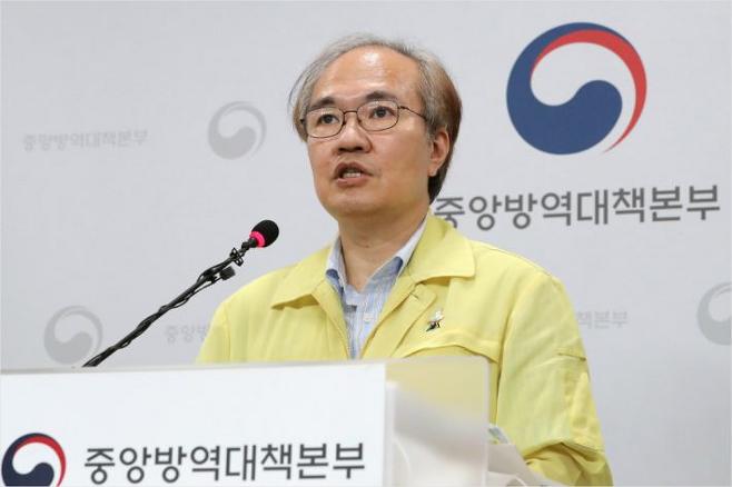 권준욱 중앙방역대책본부 부본부장. 연합뉴스