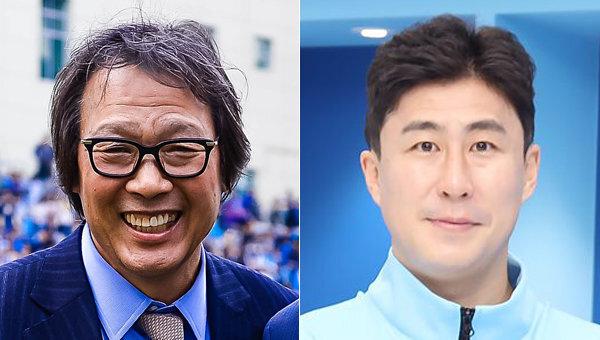 대구FC 조광래 사장(왼쪽), 이용래. 사진제공|스포츠동아DB, 대구FC