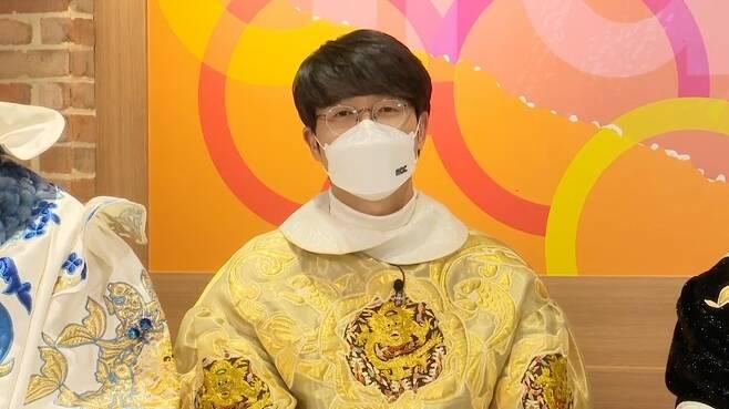 MBC TV 새 예능 '볼빨간 신선놀음'의 성시경 [MBC 제공. 재판매 및 DB 금지]