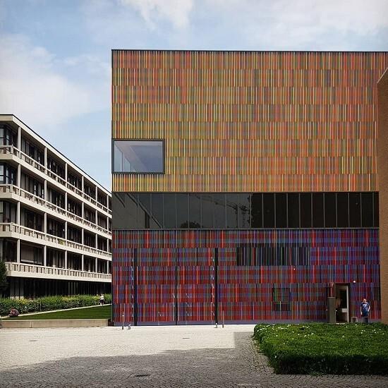 독일 뮌헨 테레지엔슈트라세에 위치한 현대미술관인 브란트호르스트 미술관. /사진=송경은 기자