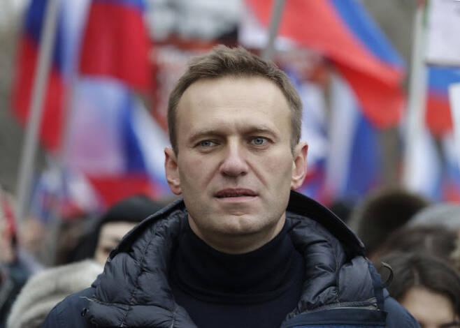 블라디미르 푸틴 러시아 대통령의 최대 정적이라고 불리는 알렉세이 나발니 (사진=AP)