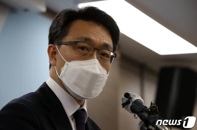 김진욱 초대 고위공직자범죄수사처장. © News1 이동해 기자