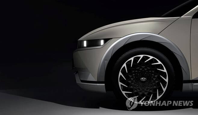 현대차, '아이오닉 5' 티저 이미지 [현대자동차 제공. 재판매 및 DB 금지] photo@yna.co.kr