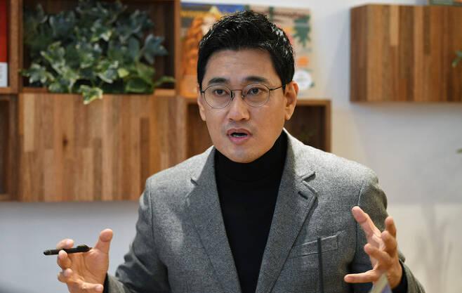 국민의힘 오신환 전 의원. 허정호 선임기자