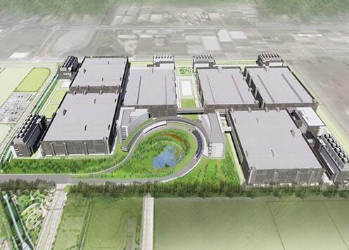 TSMC가 미국 애리조나에 짓기로 한 반도체 공장 조감도