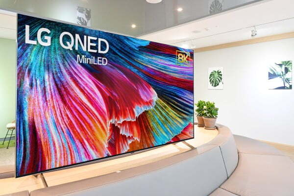미니 LED 기반 'LG QNED'/사진제공=LG전자