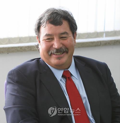 도산 안창호 선생 외손자 필립 안 커디 [연합뉴스자료사진]