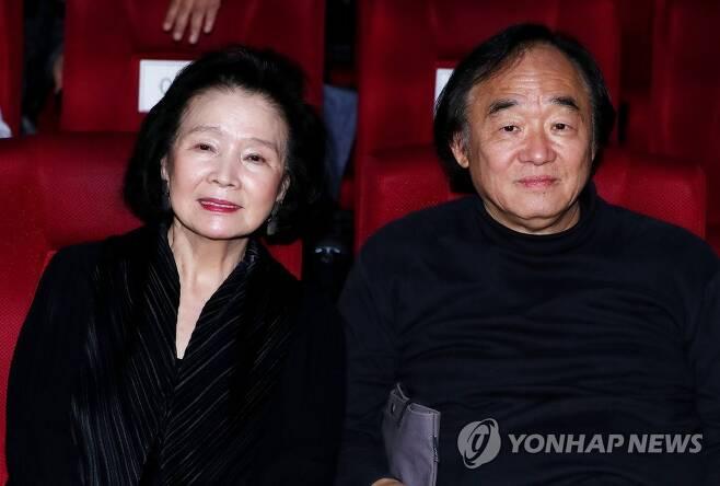 윤정희-백건우 부부 [연합뉴스 자료사진]