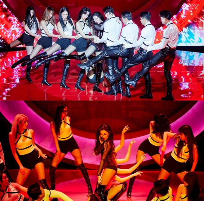 선미의 새 싱글 '꼬리'는 23일 저녁 6시 각종 음악 사이트에서 발매됐다. 어비스컴퍼니 제공