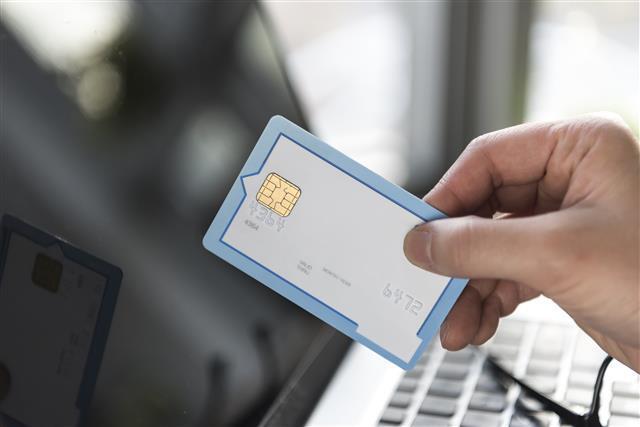 신용카드 이미지. 아이클릭아트 제공