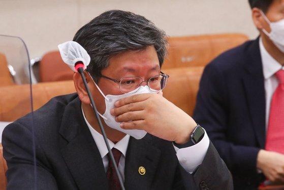22일 이용구 법무부 차관. 연합뉴스