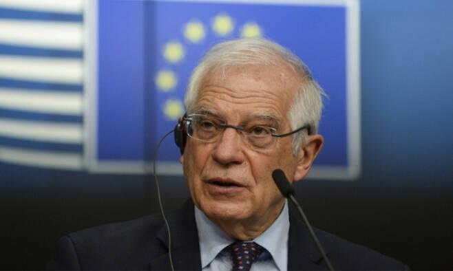 호세프 보렐 유럽연합(EU) 외교·안보 정책 고위대표. EPA연합뉴스