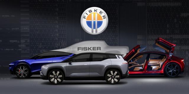 미국 전기차 스타트업 '피스커'가 개발 중인 전기차 라인업. 피스커 제공