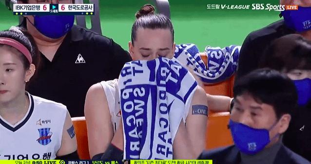 [사진] SBS 스포츠 중계 화면.