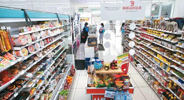 경기 일산 GS25 장항레이크점 매장 모습. GS25가 한국 소비자들이 가장 선호하는 편의점으로 꼽혔다. [한주형 기자]