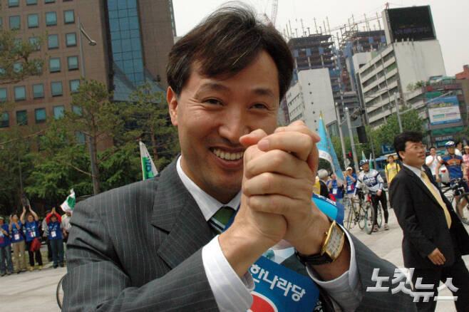 지난 2006년 지방선거 당시 오세훈 국민의힘 서울시장 후보.