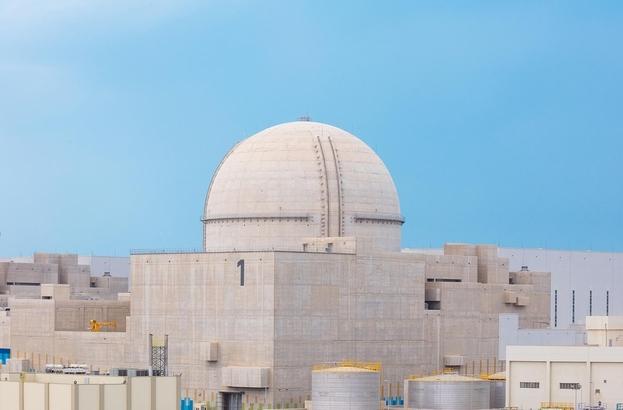 한국이 처음 수출한 원자력 발전인 아랍에미리트(UAE) 바라카 원전이 지난 6일 상업운전을 시작했다./한국전력 제공