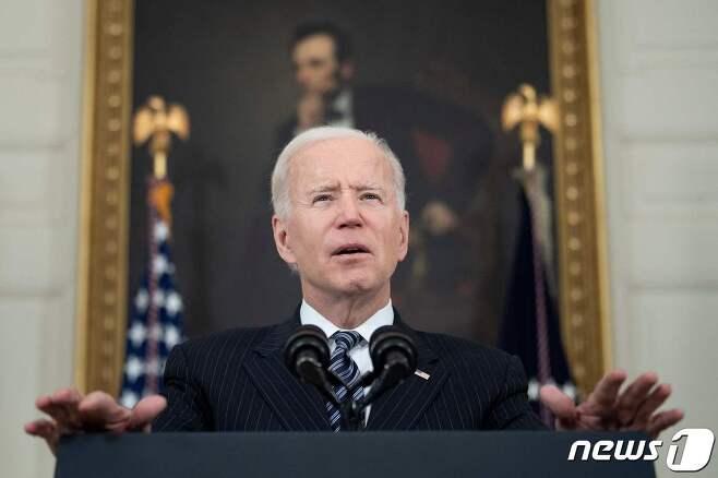 조 바이든 미국 대통령 <자료사진> © AFP=뉴스1 © News1 우동명 기자