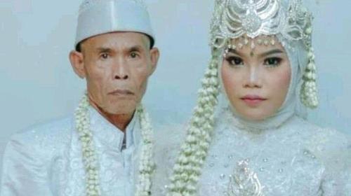 인도네시아 78세-17세 부부, 혼인 22일째에 파경 [트리뷴뉴스·재판매 및 DB 금지]