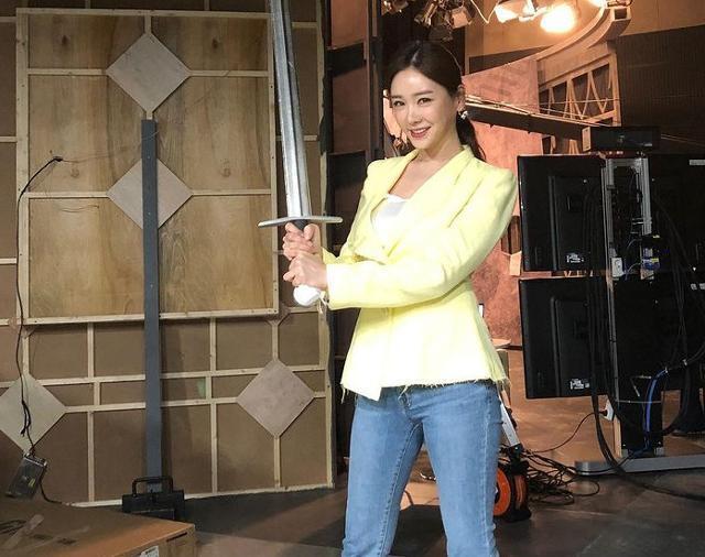 공서영 아나운서가 남혐 단어 사용 의혹에 대해 해명했다. 공서영 SNS 제공