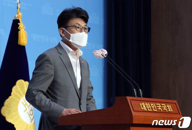 진성준 더불어민주당 의원./뉴스1 © News1 박세연 기자
