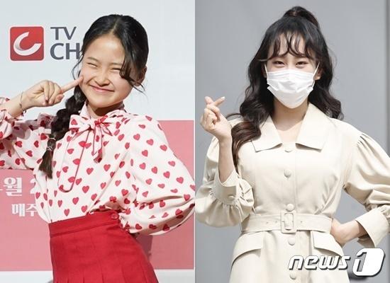 김다현(왼쪽) 김의영© 뉴스1