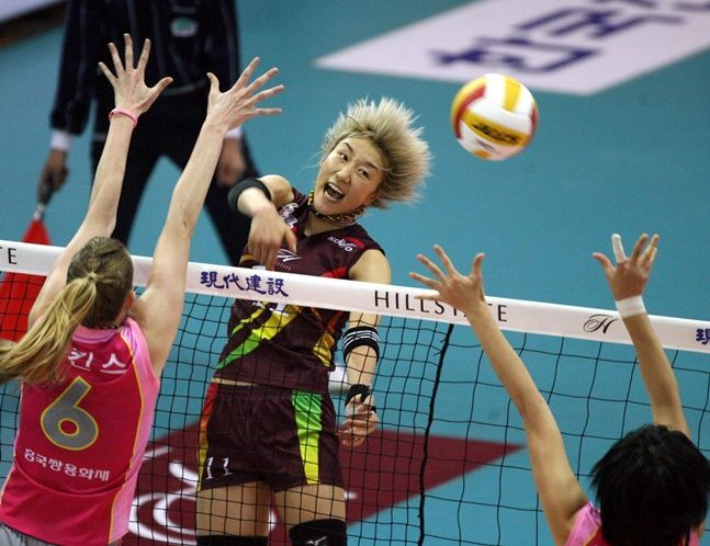2006-07 V-리그 챔피언결정전 현대건설-흥국생명. ⓒ 한국배구연맹