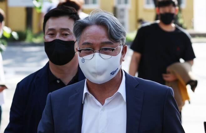 ▲ 김경문 야구 대표팀 감독(가운데)도 3일 코로나19 백신을 맞았다. ⓒ연합뉴스