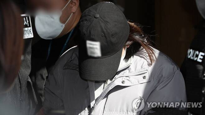 구미 3세 여아 방치 김모씨 [연합뉴스TV 제공]