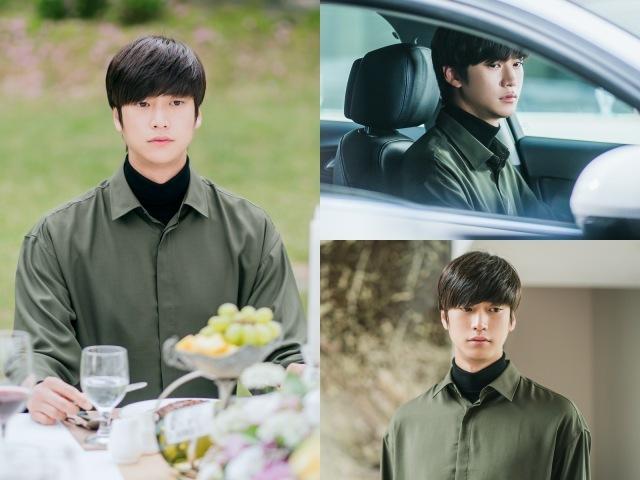 배우 나인우의 KBS2 새 월화드라마 '멀리서 보면 푸른 봄' 스틸컷이 공개됐다. /빅토리콘텐츠 제공