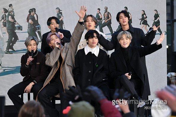 그룹 방탄소년단. ⓒGetty Image/이매진스