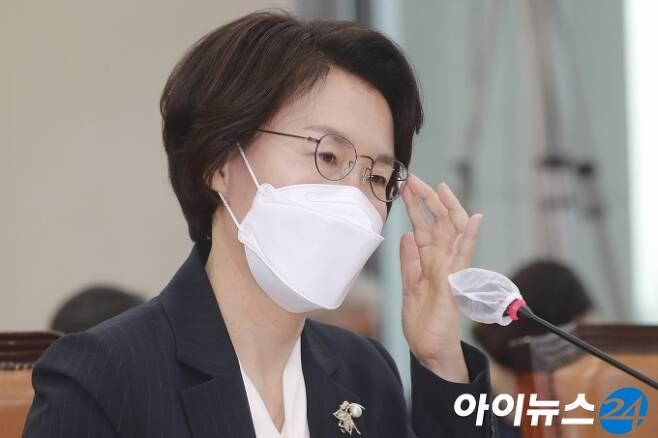 임혜숙 과학기술정보통신부 장관. [사진=정소희 기자]