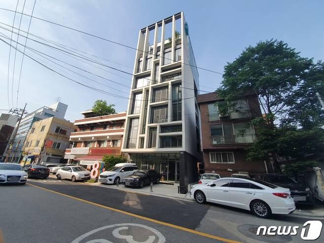 서울 성동구 성수동의 한 빌딩. (자료사진) © 뉴스1