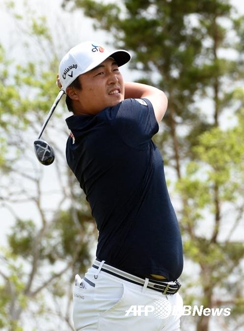 2021년 미국프로골프(PGA) 투어 AT&T 바이런 넬슨 골프대회 우승 경쟁에 뛰어든 이경훈 프로. 사진제공=ⓒAFPBBNews = News1