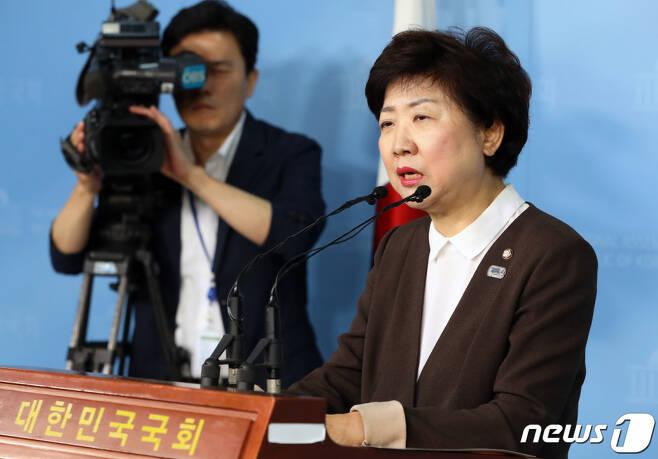 박인숙 전 자유한국당(국민의힘 전신) 의원. /사진제공=뉴스1