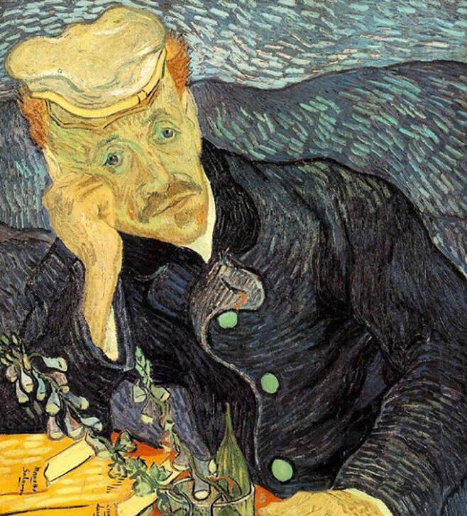 빈센트 반 고흐 '가셰박사의 초상'